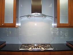 glash backsplash