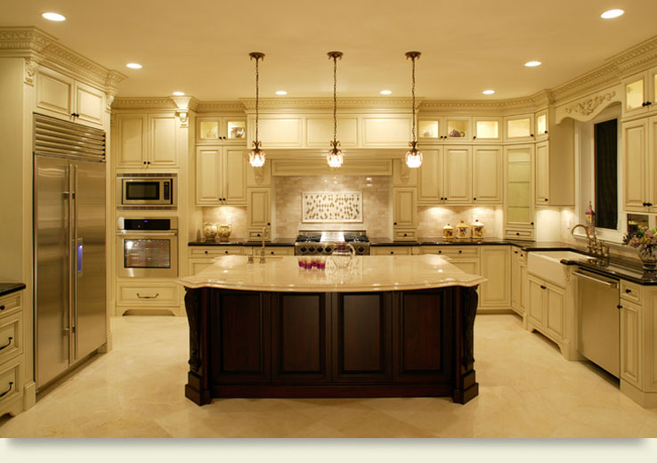 Off White Kitchen Edgewood Cabinetry