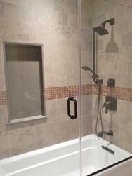 shower tile ideas for a special bathroom remodel in