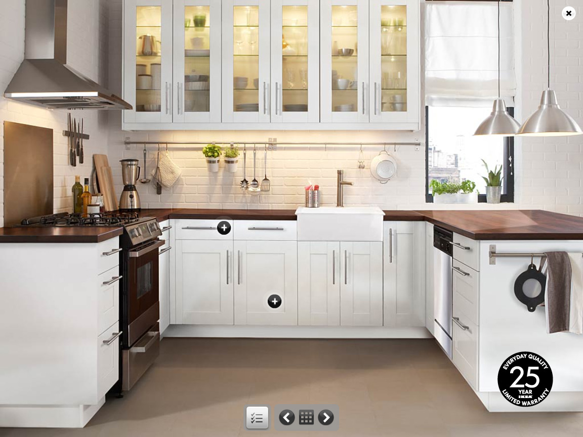 Charming IKEA Kitchen Cabinets