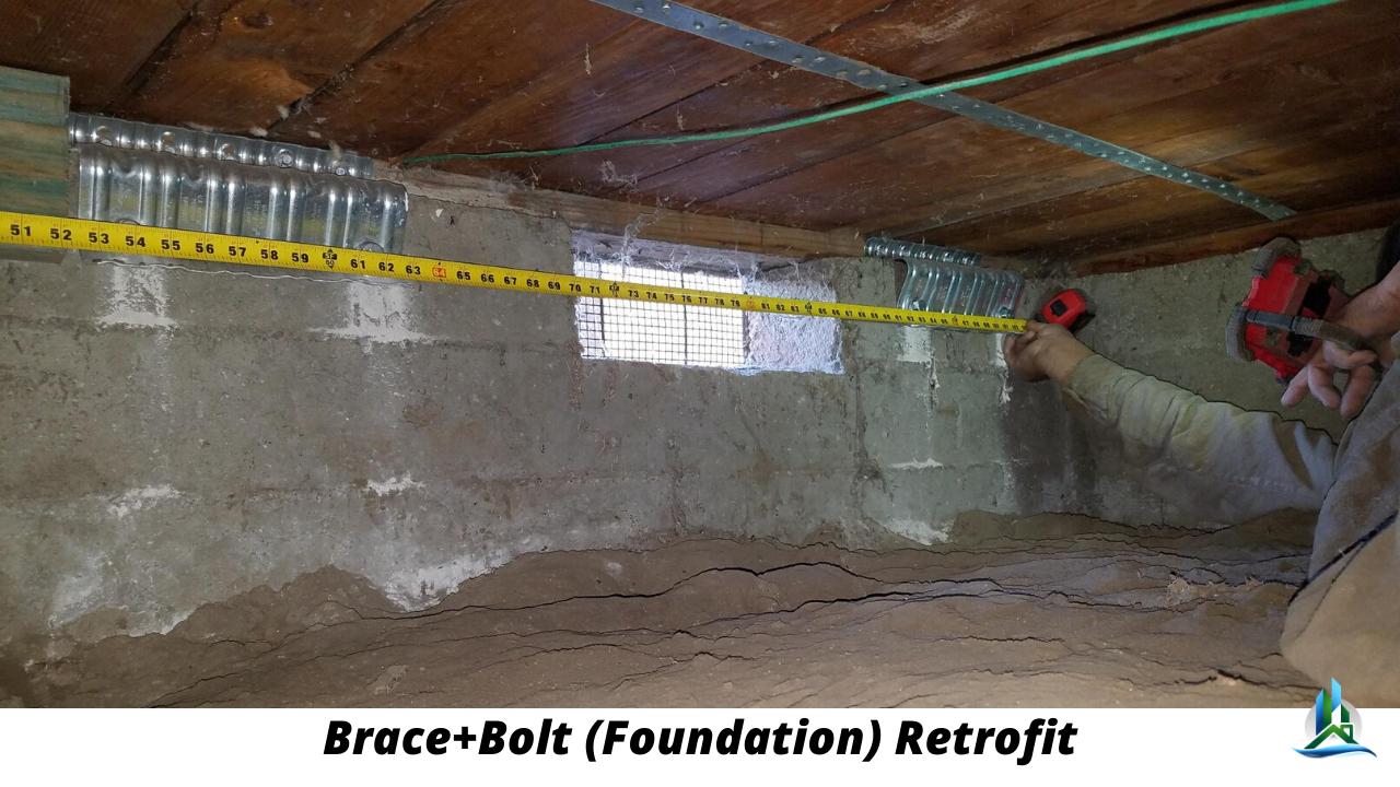 what is brace bolt - foundation retrofit - near me los angeles