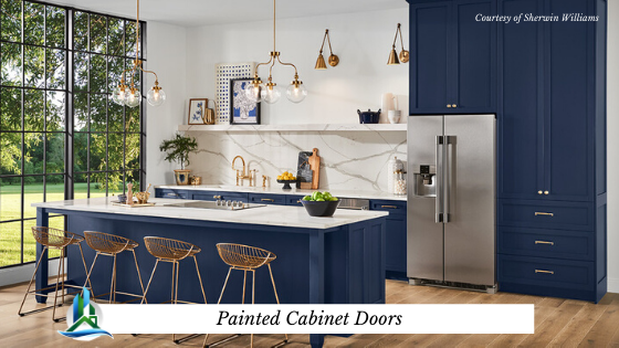 painted cabinets - bay cities construction