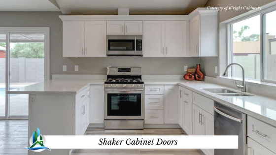 shaker cabinet door - bay cities construction