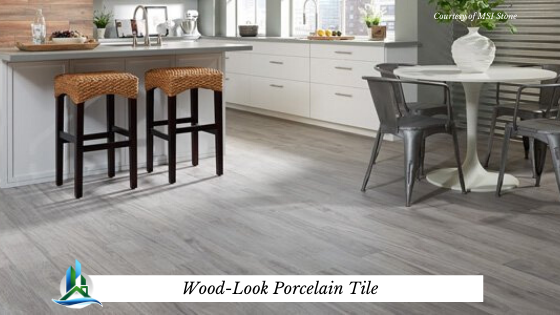 wood look porcelain tile - bay cities construction