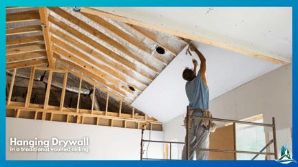 SIP Panels - Traditional drywall