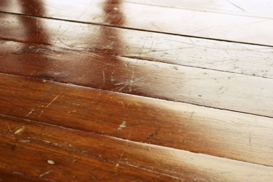 Scratched Hardwood Floors
