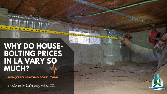 house bolting contractor - bay cities construction los angeles
