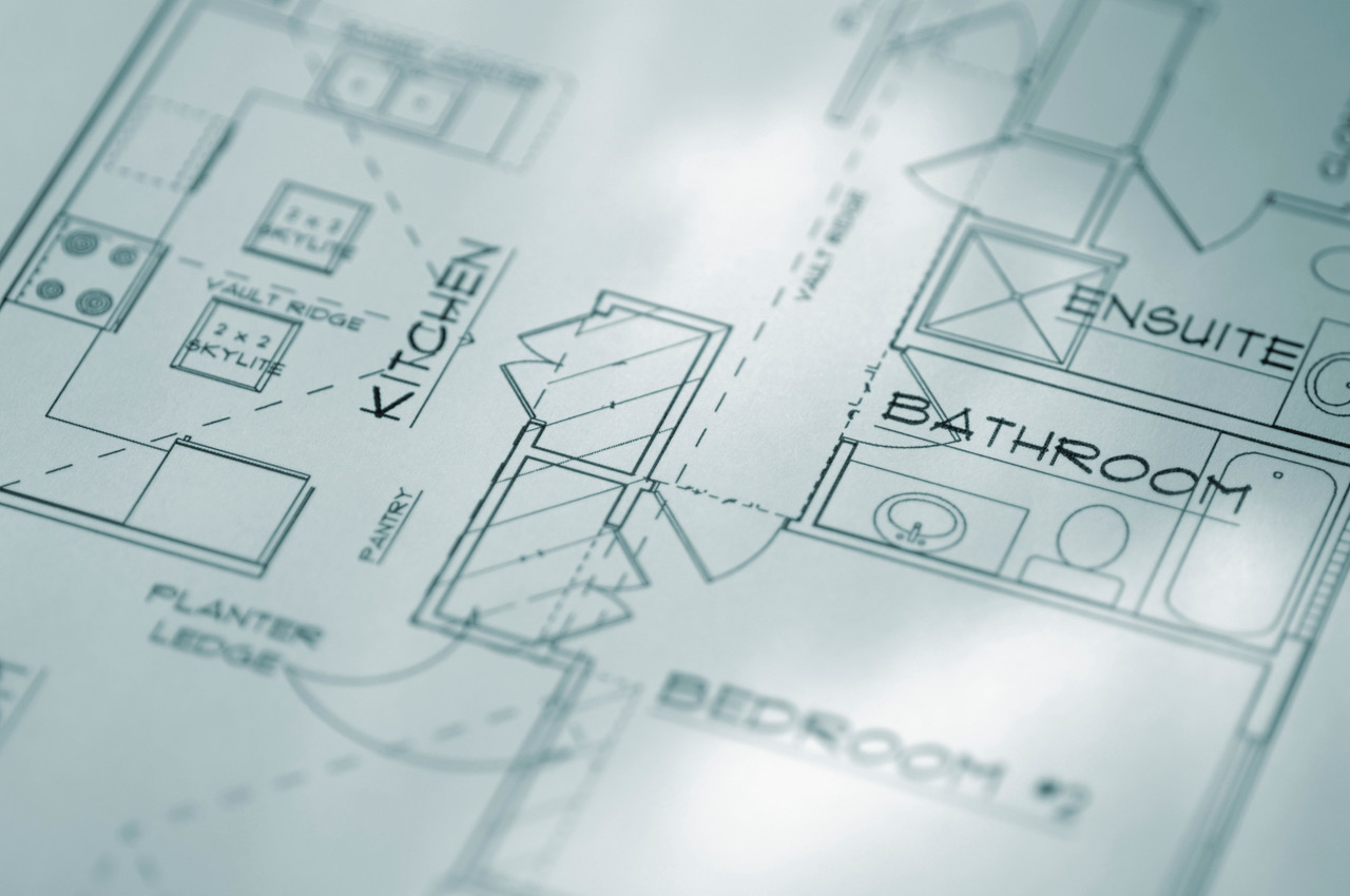 kitchen plans - engineering plans - bay cities construction
