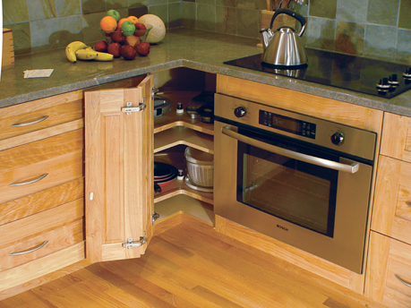 Kitchen Cabinets Blind Corner Cabinet Solutions