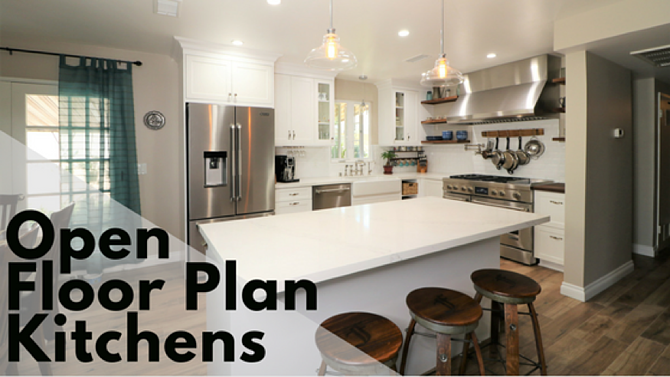 Open Floor Plan Kitchen Design