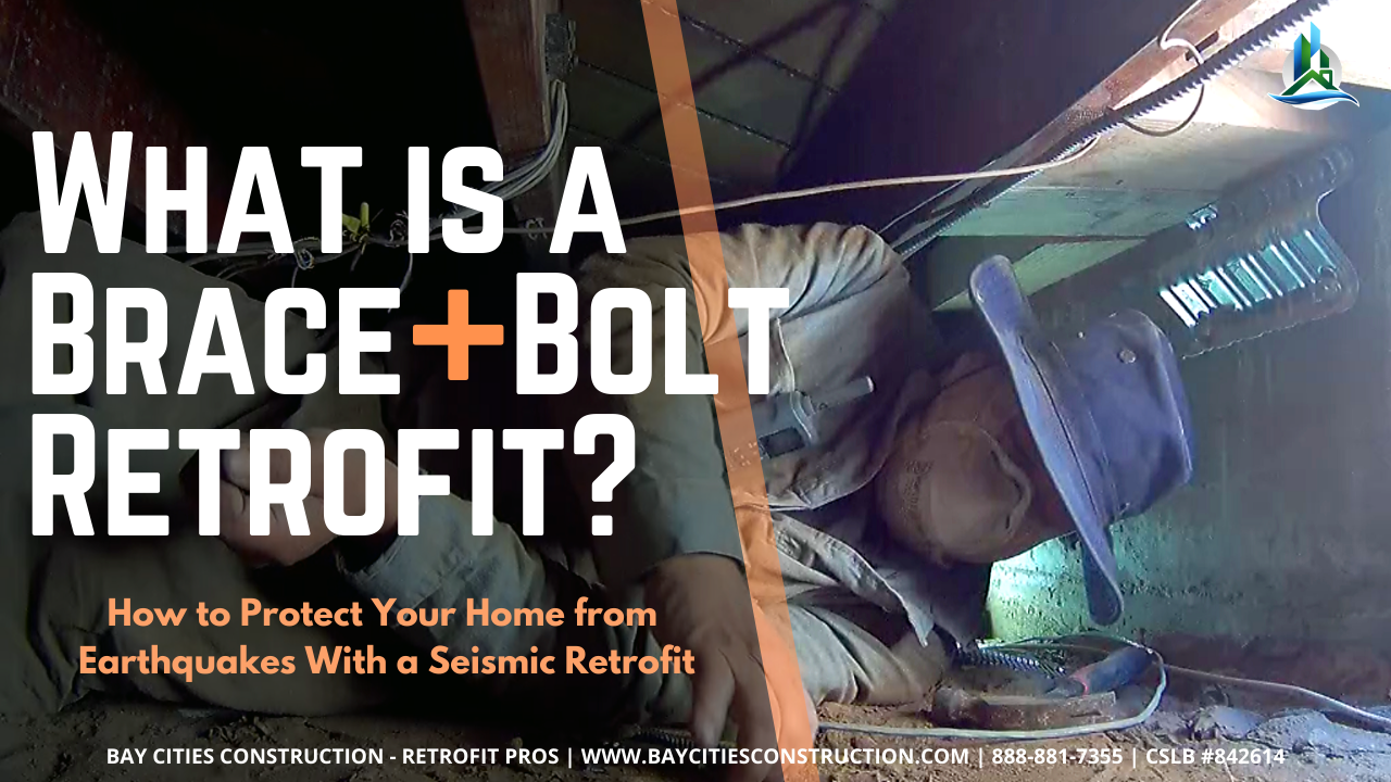 what is brace and bolt foundation retrofit - boltdown - how to protect your home from earthquakes