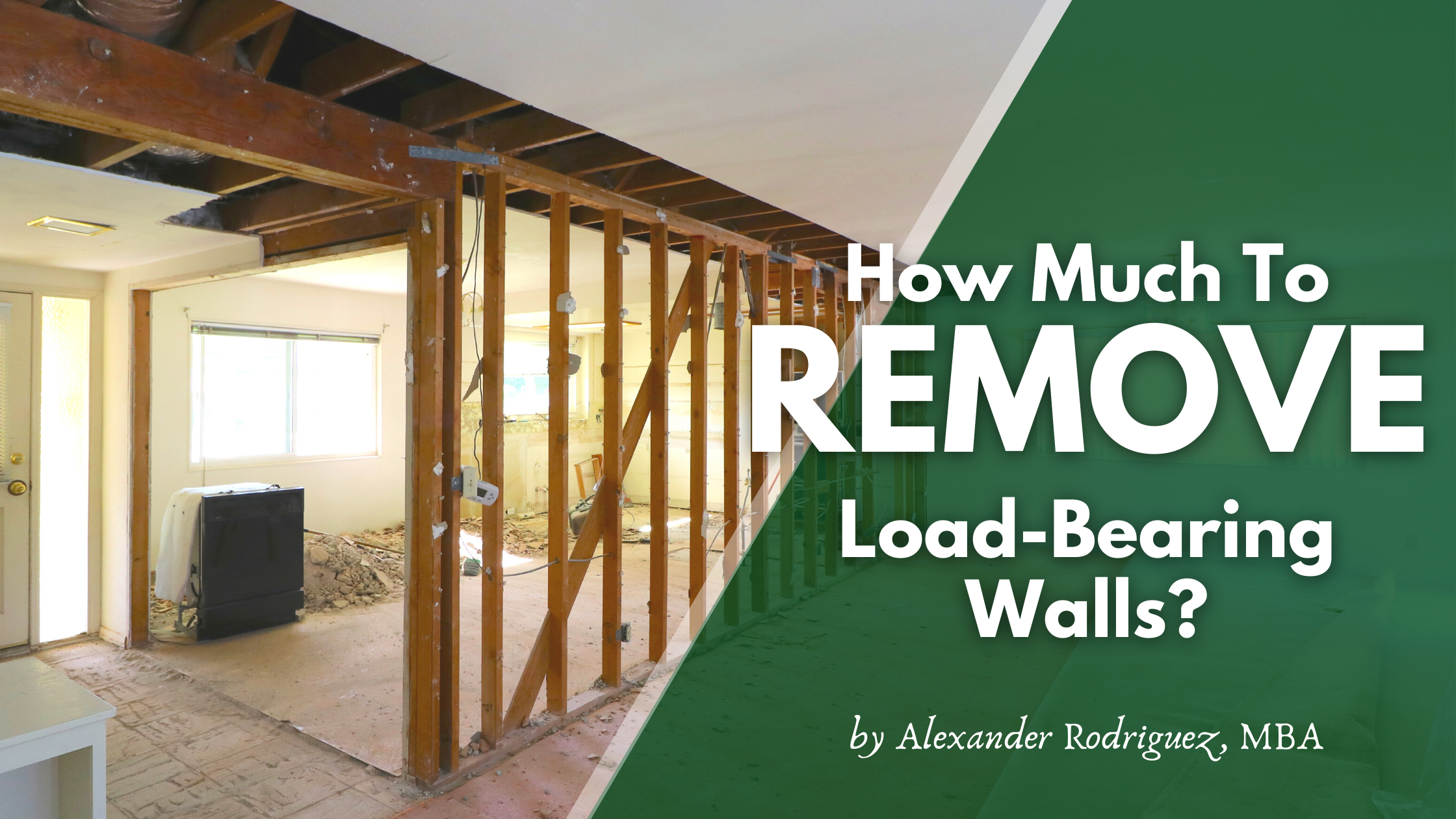 How Much Does it Cost to Remove a Wall?