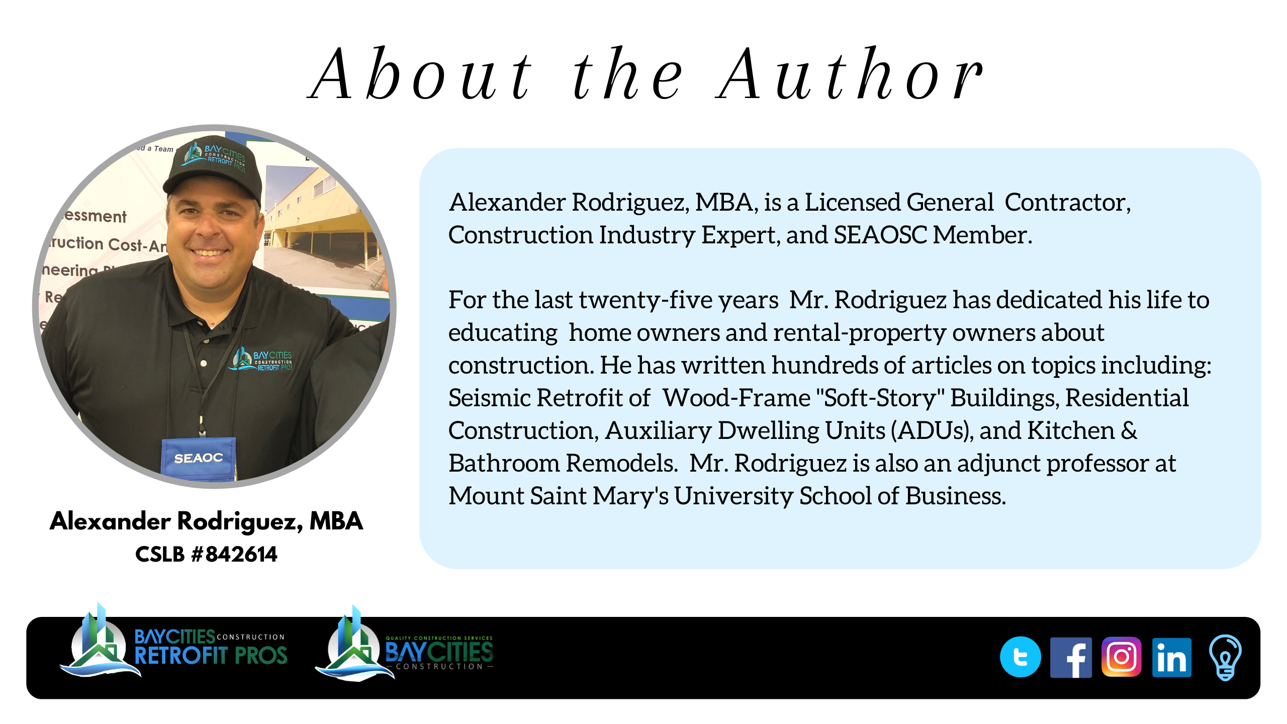 about the author - alex rodriguez general contractor - best contractor south bay