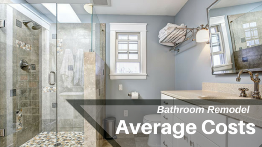 Average Cost Of A Bathroom Remodel - Average cost to update bathroom
