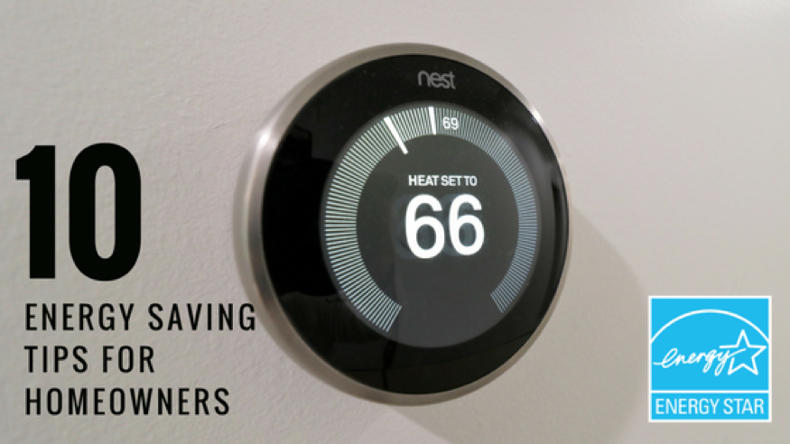 10 Energy Saving Tips for Homeowners