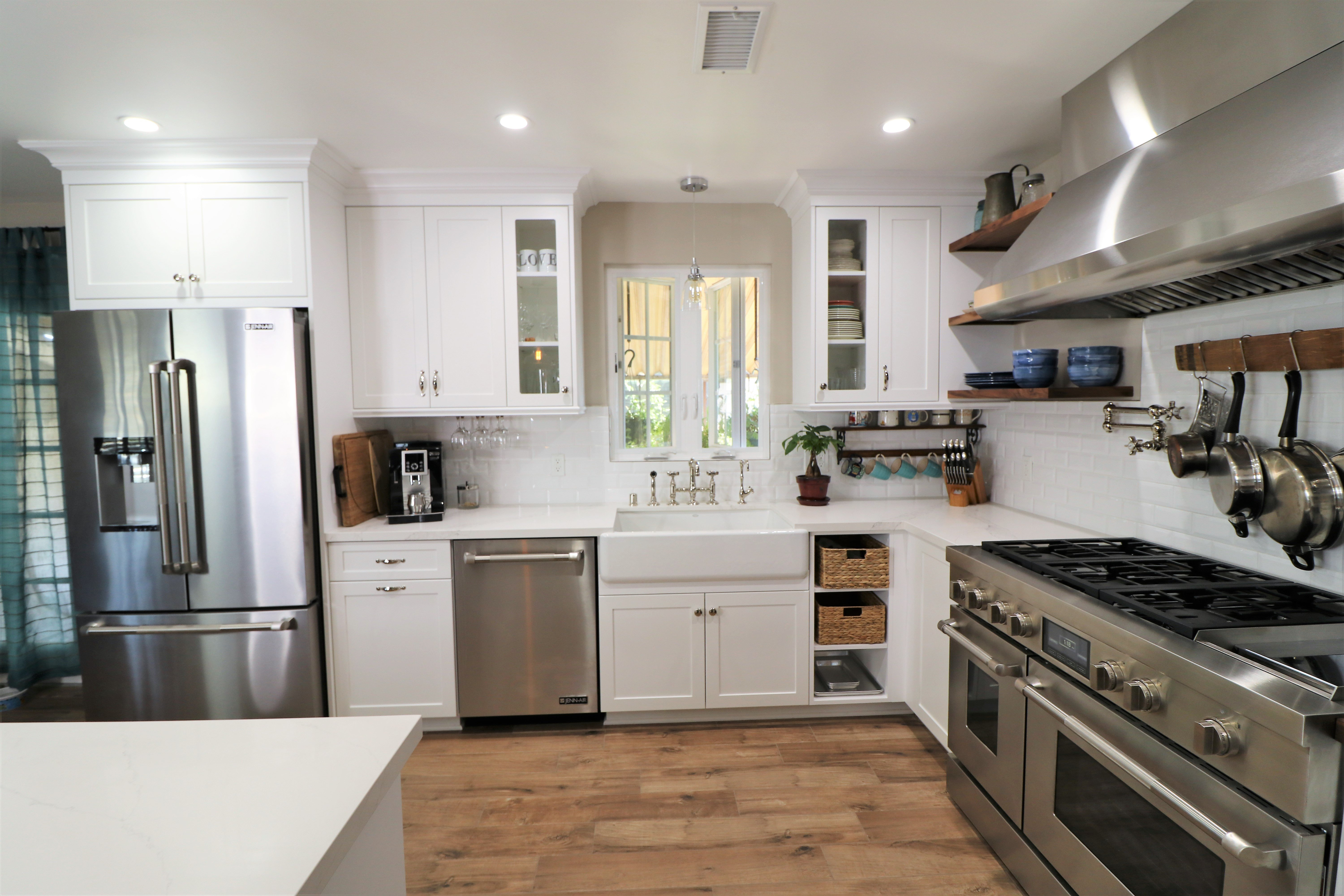 open kitchen - torrance - south bay - bay cities construction