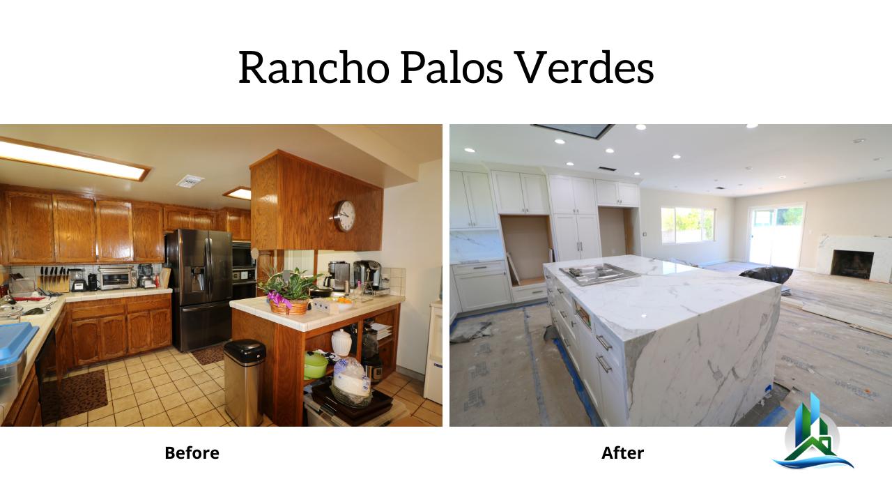 rancho palos verdes - kitchen remodel bay cities construction