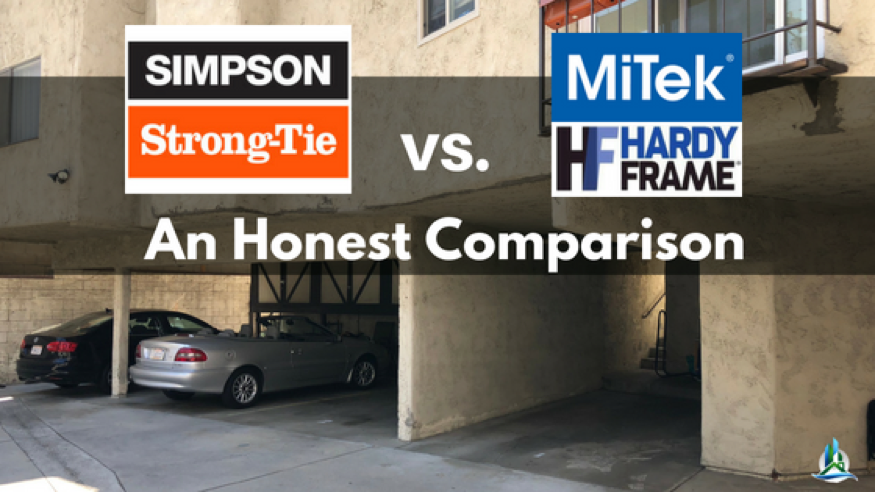 What is a Special Moment Frame? Simpson Strong Frame vs. MiTek Hardy Frame