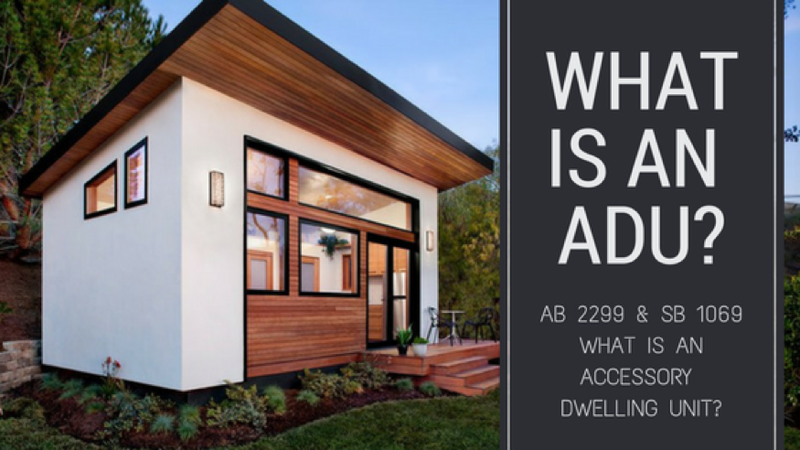 Home Accessory Unit: What is an ADU?