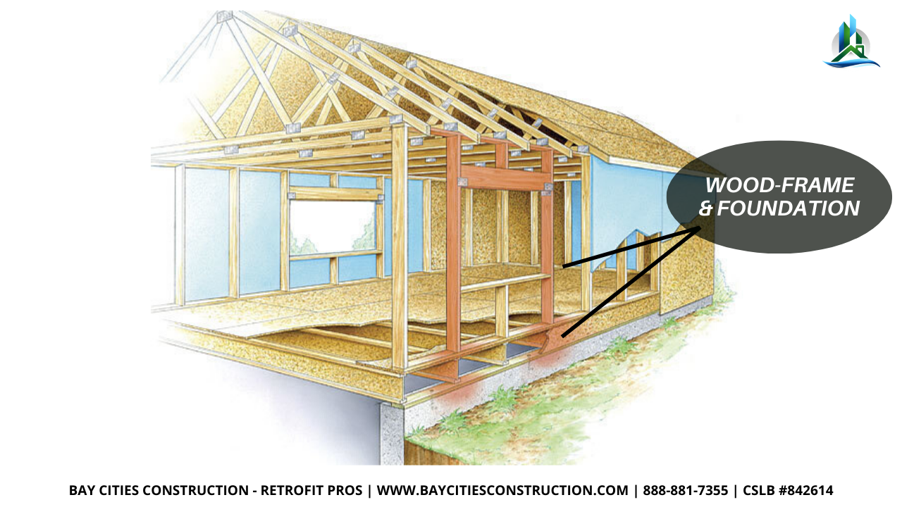 wood frame construction - bay cities construction